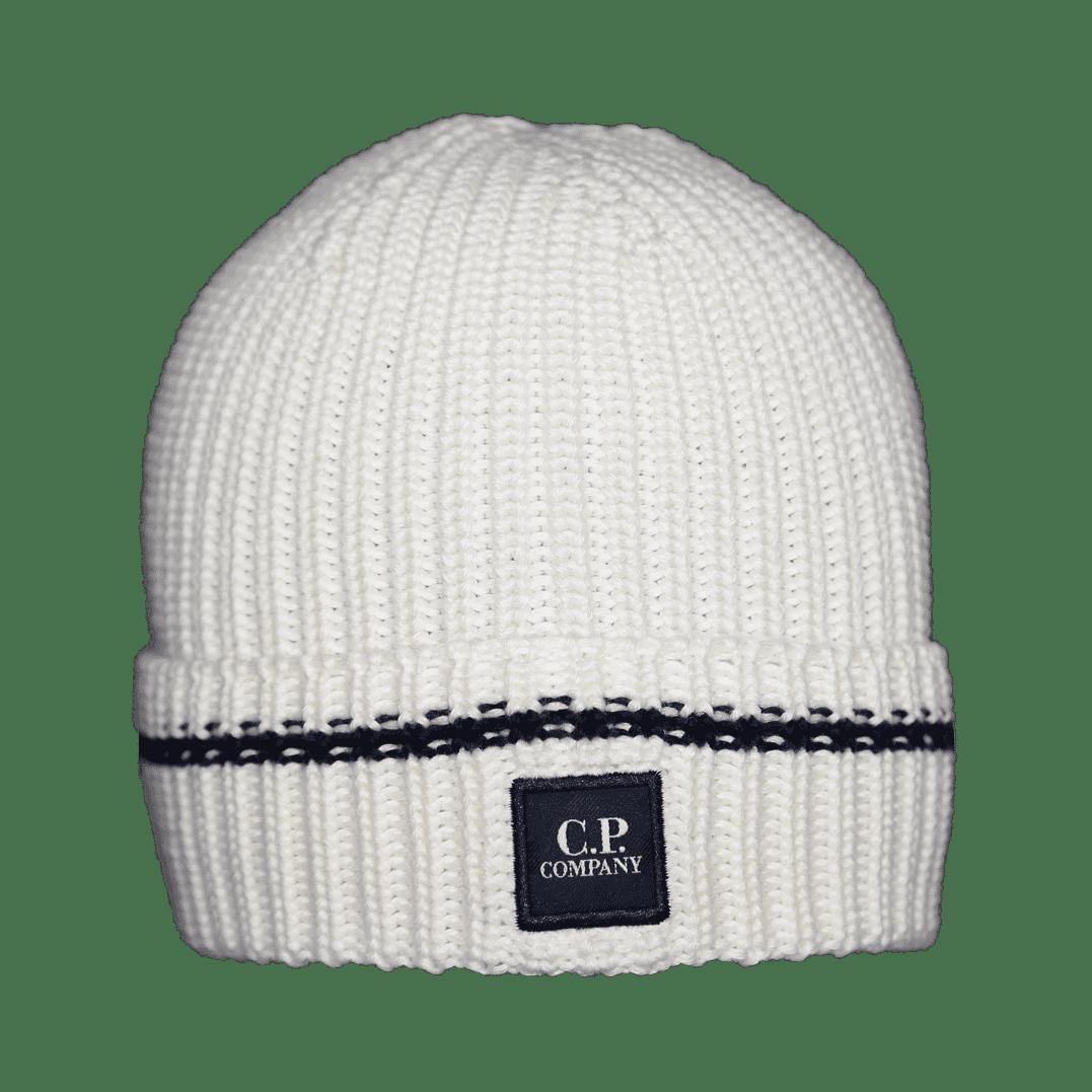 Cabinero Stiles C.P. Company Mütze weiß 1 neu