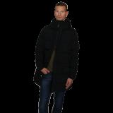 Cabinero Stiles Berlin C.P.Company Herren Daunen Parka Schwarz neue Kollektion 2017-18 2
