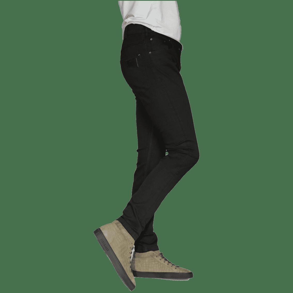 Cabinero Stiles Berlin Jeans Johnny Love, schwarz Herrenhosen 2017 3