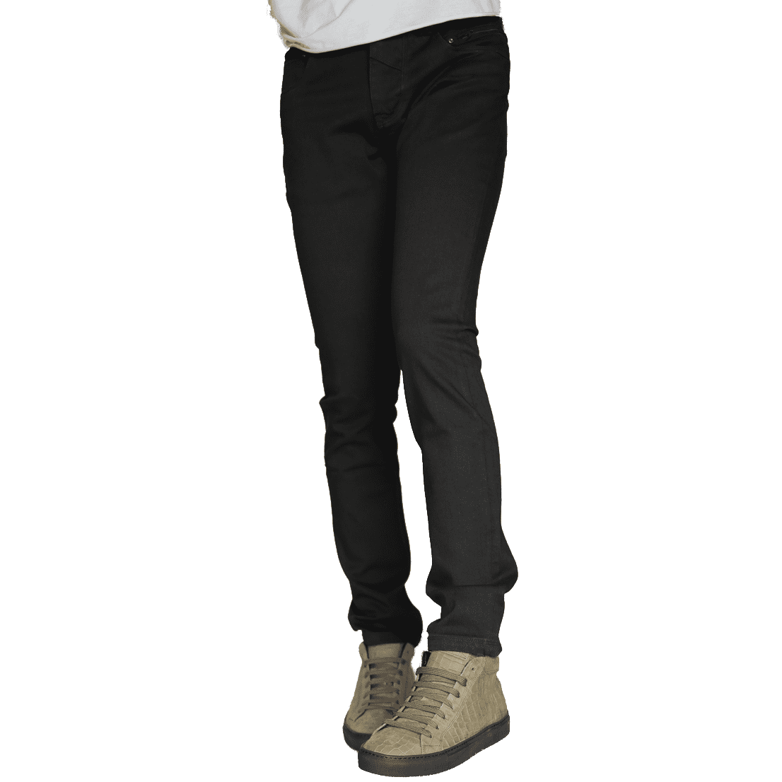 Cabinero Stiles Berlin Jeans Johnny Love, schwarz Herrenhosen 2017 4