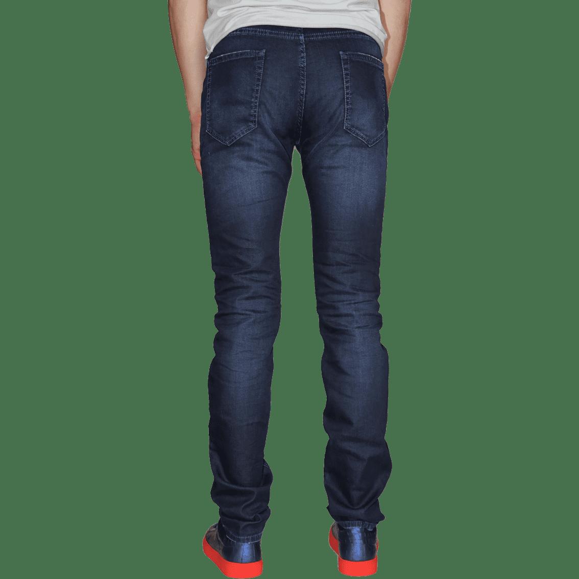 Cabinero Stiles Berlin PG Enjoy Jeans, Herrenhosen, made in Italy AW17-18 denim Blue-Blue 17-4