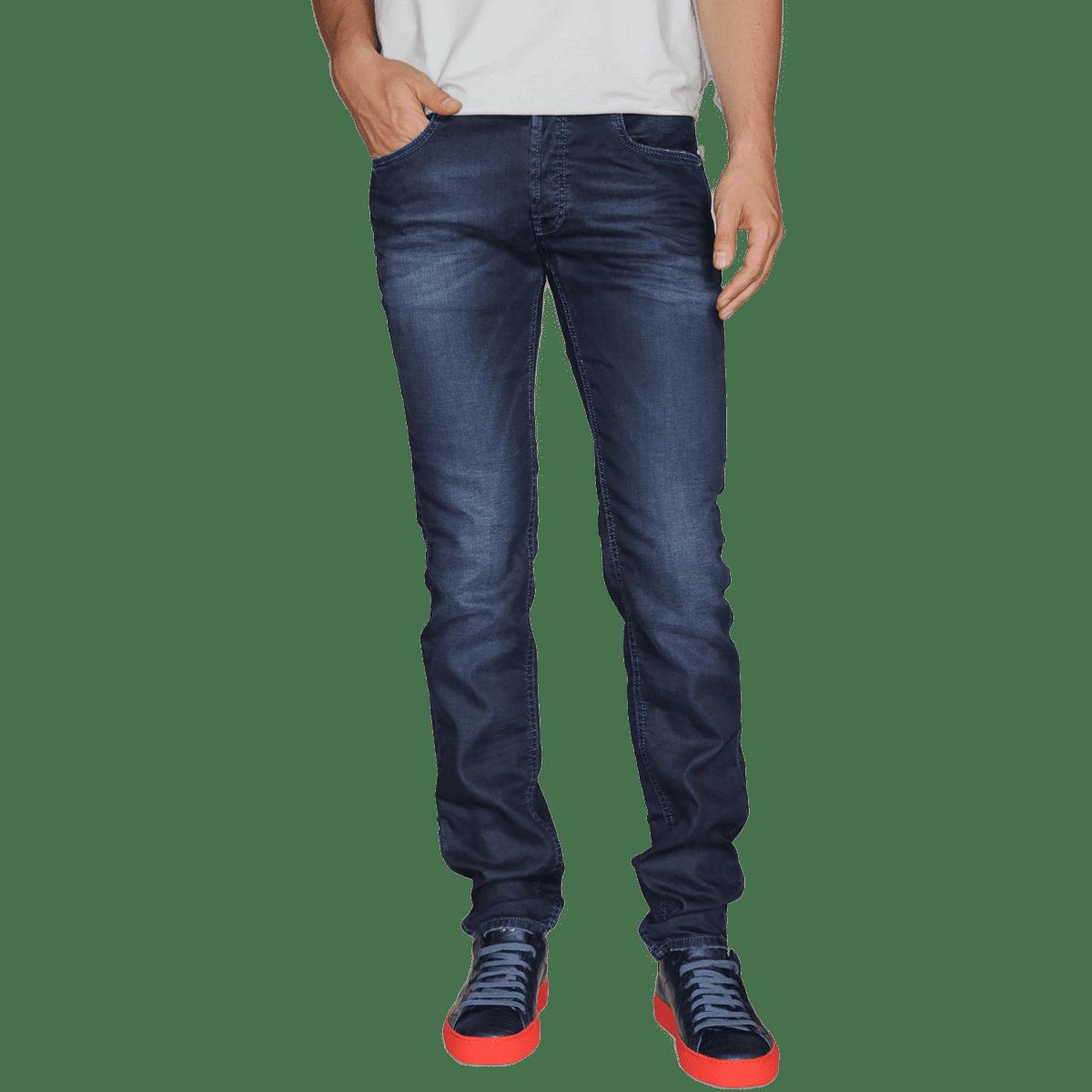 Cabinero Stiles Berlin PG Enjoy Jeans, Herrenhosen, made in Italy AW17-18 denim Blue-Blue 17-5