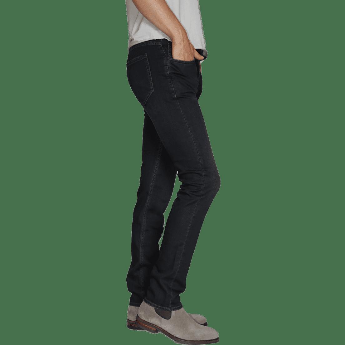 Cabinero Stiles Berlin PG Enjoy Jeans, Herrenhosen, made in Italy AW17-18 denim Blue-Brown 2