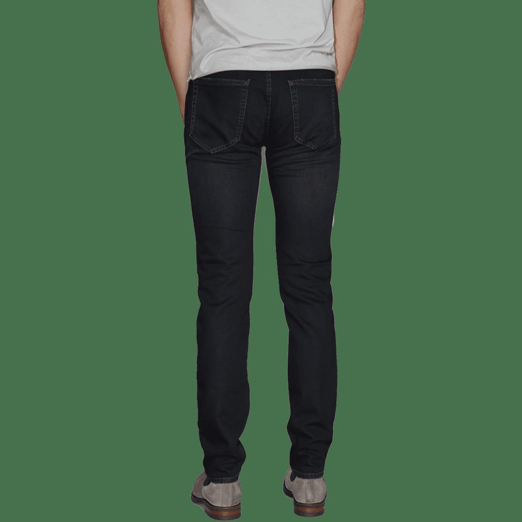 Cabinero Stiles Berlin PG Enjoy Jeans, Herrenhosen, made in Italy AW17-18 denim Blue-Brown 3