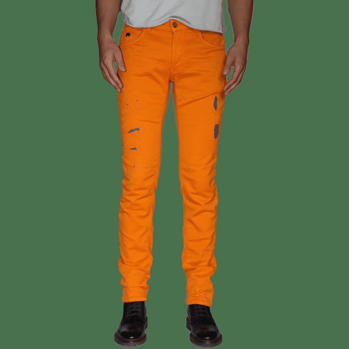 Cabinero Stiles Berlin PG Enjoy Jeans, Herrenhosen, made in Italy AW17-18 denim curry blue