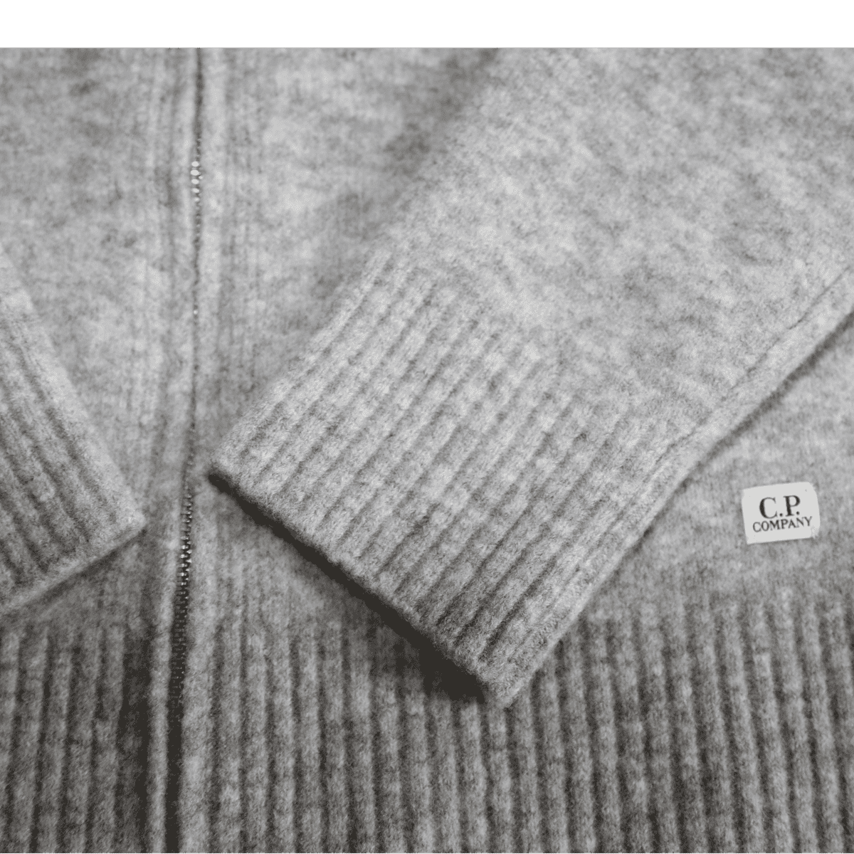 Cabinero Stiles Herrenmode Onlineshop C.P.Company Cardigan-Strickjacke in Grau #03CMKN166A-005103A AW17-18 1
