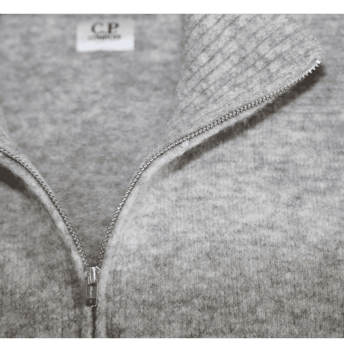 Cabinero Stiles Herrenmode Onlineshop C.P.Company Cardigan-Strickjacke in Grau #03CMKN166A-005103A AW17-18 2
