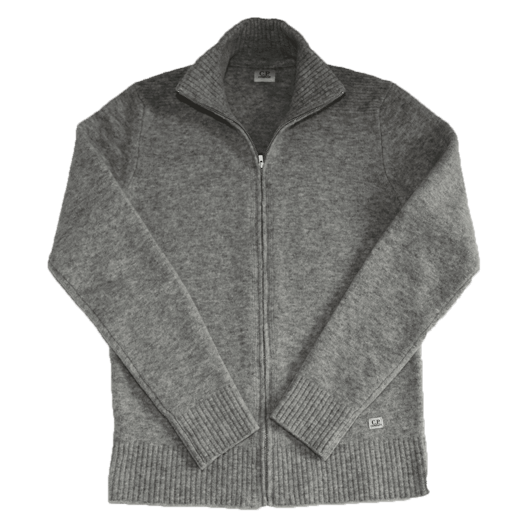 Cabinero Stiles Herrenmode Onlineshop C.P.Company Cardigan-Strickjacke in Grau #03CMKN166A-005103A AW17-18
