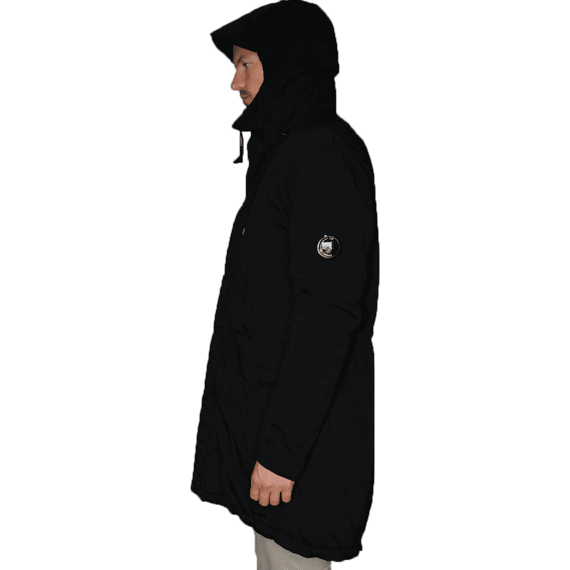 Cabinero Stiles Herrenmode Onlineshop C.P.Company Parka in Dunkelblau #03CMOW005A-001020G AW17-18 1