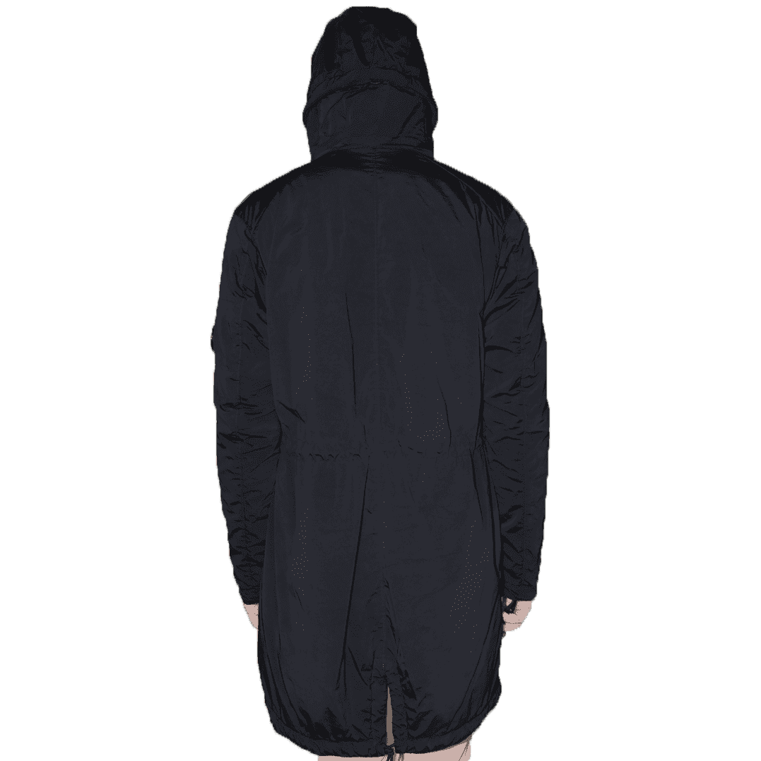 Cabinero Stiles Herrenmode Onlineshop C.P.Company Parka in Dunkelblau #03CMOW005A-001020G AW17-18 2