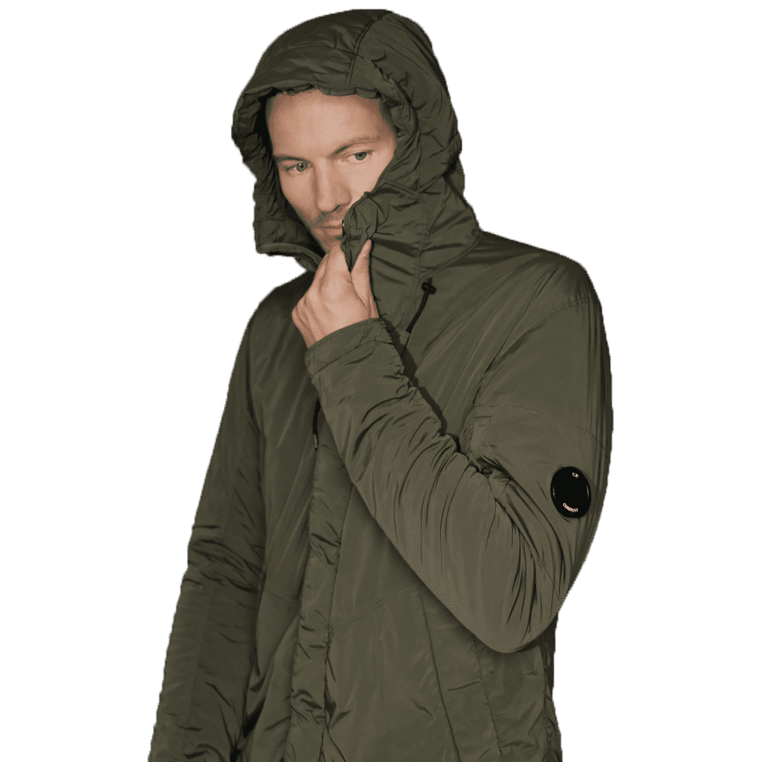 Cabinero Stiles Herrenmode Onlineshop C.P.Company Parka in Olive #03CMOW005A-001020G AW17-18 3