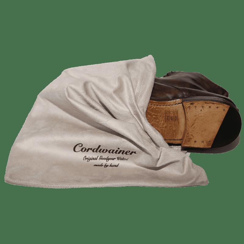 Cordwainer Schnürstiefel TODI in Cognac-used - Exklusiv für www.cabinero.de - Herren-Schuhe - Neue Kollektion 2018