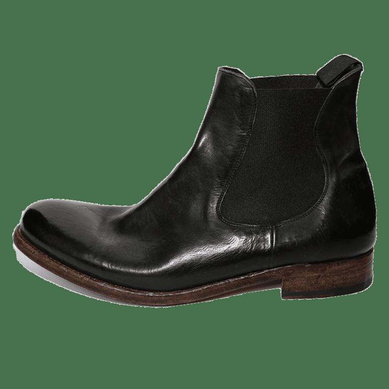Cordwainer Schuhe - Chelsea Boot TODI in Schwarz - Exklusiv für Cabinero Berlin