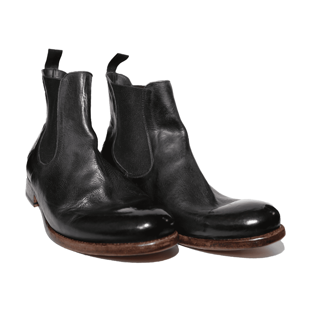 Cordwainer Schuhe - Chelsea Boots TODI in Schwarz - Exklusiv für Cabinero Berlin