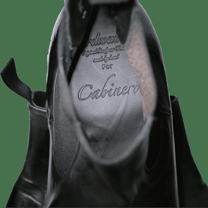 Cordwainer Schuhe - Chelsea Boots TODI in Schwarz - Exklusiv für Cabinero - www.cabinero.de