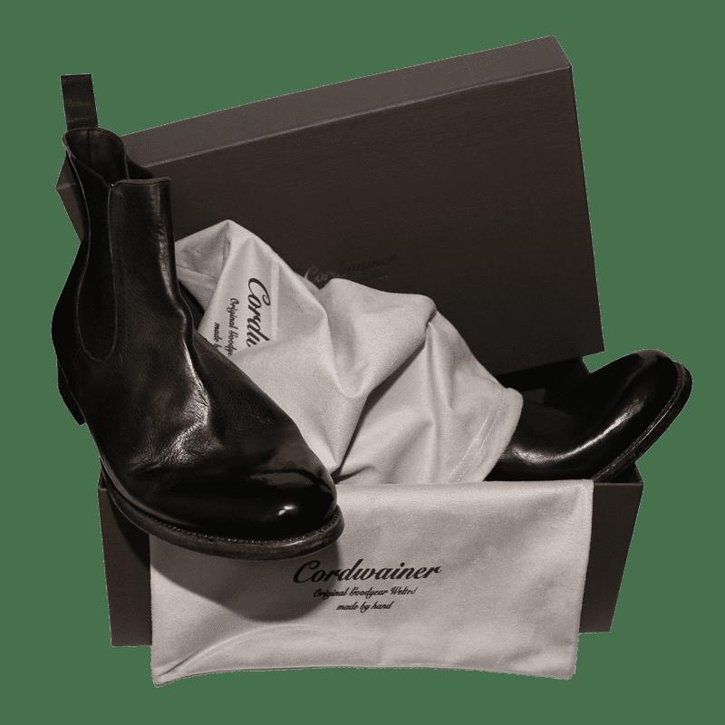 Cordwainer Schuhe - Chelsea Boots TODI in Schwarz - Exklusiv für UNS - Neue Kollektion bei Cabinero