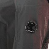 C.P. Company - Softshell Parka in Schwarz-Blau- Outerwear-Long Jacket #04CMOW030A005159A- Herren-Jacken - cp-company - www.cabinero.de 2
