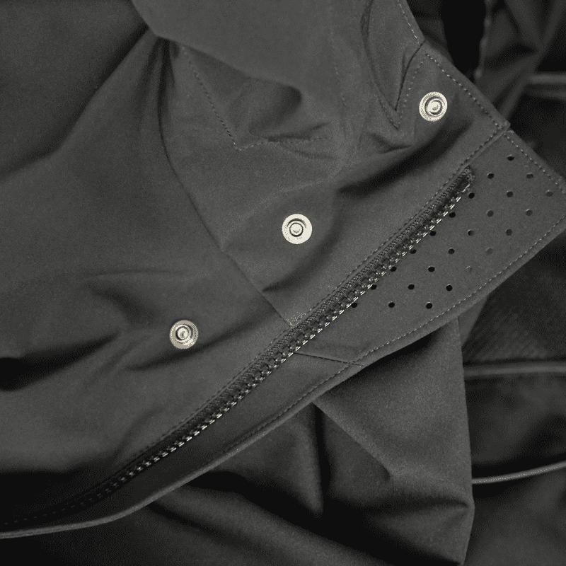C.P. Company - Softshell Parka in Schwarz-Blau- Outerwear-Long Jacket #04CMOW030A005159A- Herren-Jacken - cp-company - www.cabinero.de 3