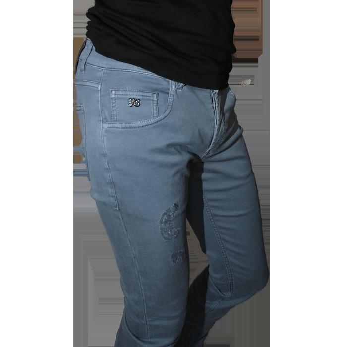 PG Enjoy Herren-Jeans auf www.cabinero.de - Stretch-Jeans Farbe Mittelgrau - Online shoppen