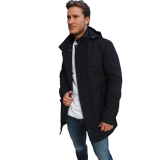 Johnny Love mensfashion Parka Rizzo Black NEUE Kollektion www.cabinero.de