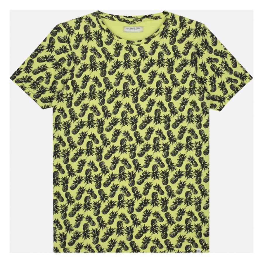 DSTREZZED Pineapple Lime T-Shirt www.cabinero.de Berlin-Mitte Nikolaiviertel