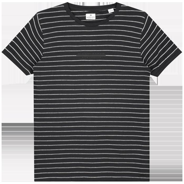 DSTREZZED Shirt Broken Stripes Dark Navy www.cabinero.de Berlin-Mitte