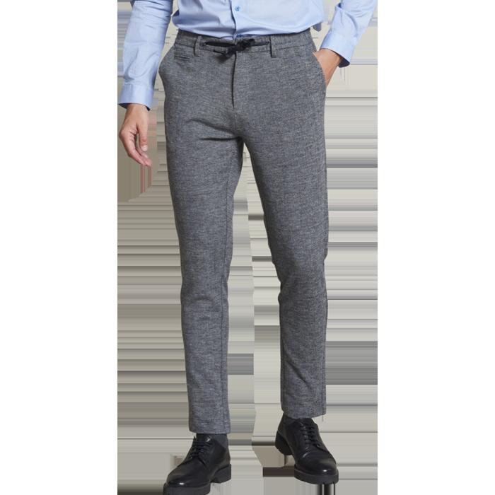 Dstrezzed Quinn Jogger Pants Herringbone Grey Melange www.cabinero.de