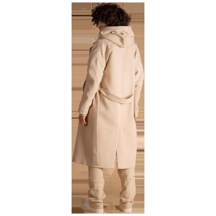 Elias Rumelis Monochrome Ladies Sweatshirt coat Kimberley milky beige www.cabinero.de