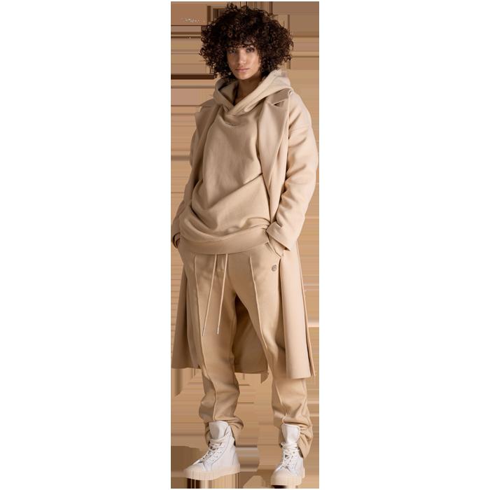 Elias Rumelis Monochrome Sweatshirt coat Kimberley milky beige www.cabinero.de Berlin