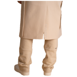 Elias Rumelis Monochrome Sweatshirt coat Kimberley milky beige www.cabinero.de