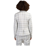 Elias Rumelis Ladies Blazer Leya soft off white mud check